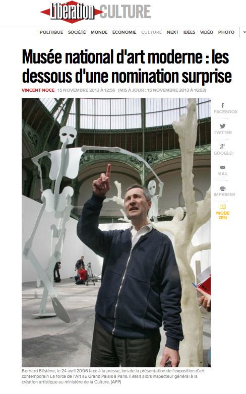 Copie d'écran de liberation.fr