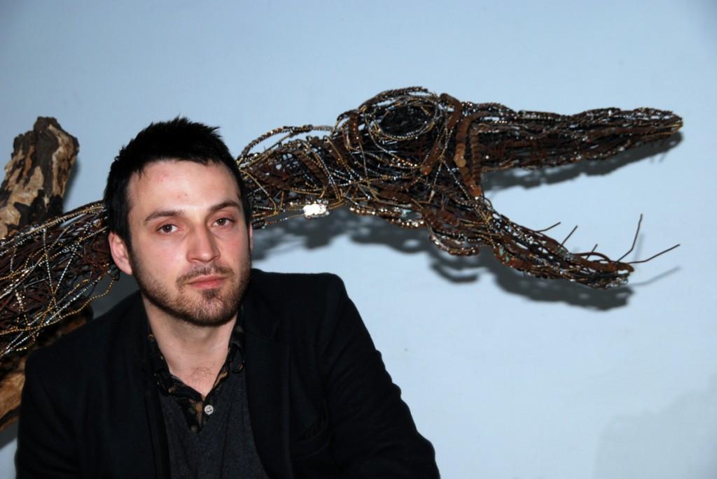 Lionel Sabatté à l'Aquarium de Paris