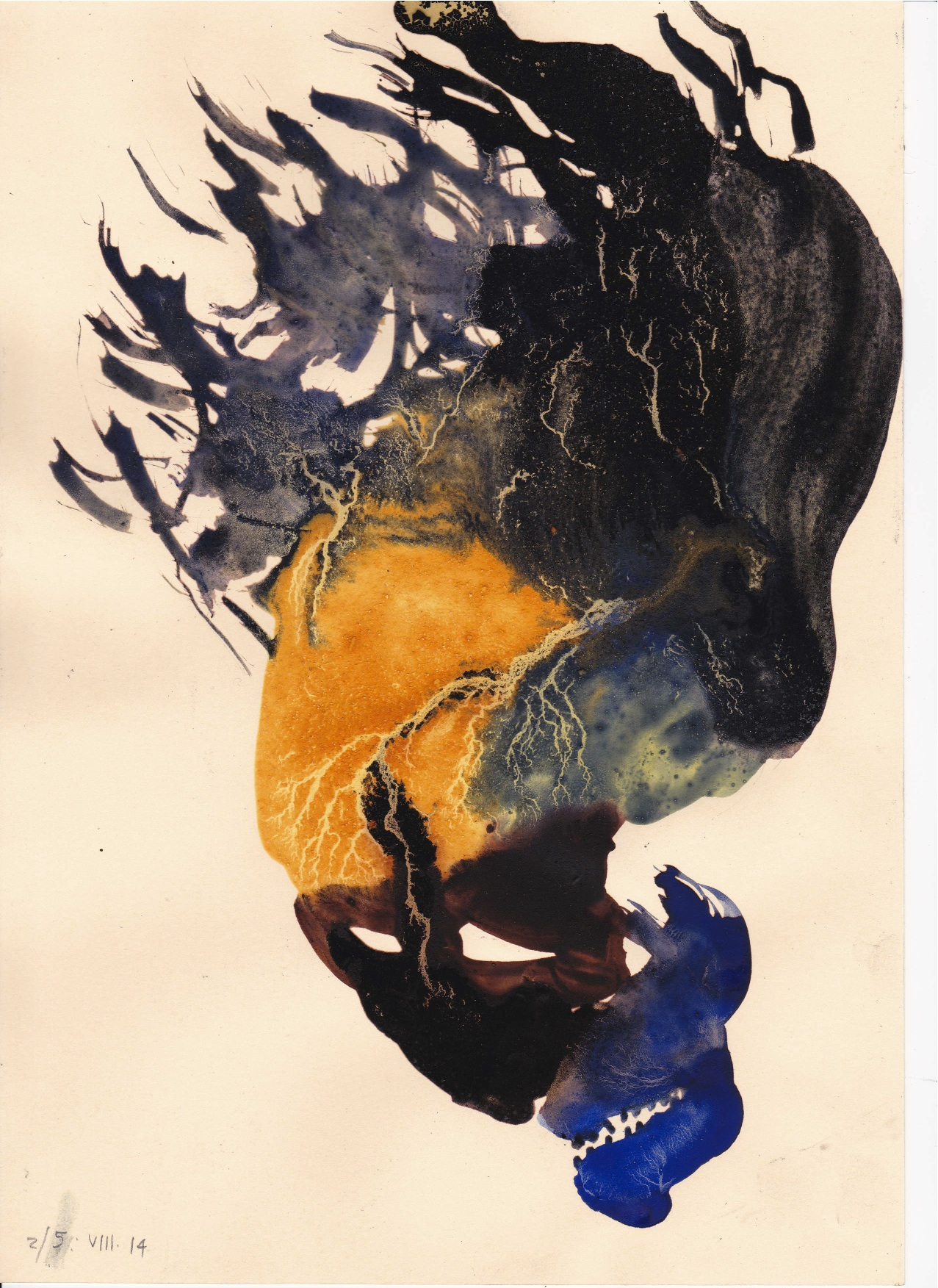 Une œuvre de Marco Botempo présentée par la galeriste Gloria Cohen.
