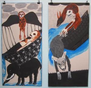 Annette Barcelo à la galerie Anne de Villepoix