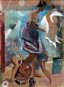 Marc Desgrandchamps à la galerie Lelong